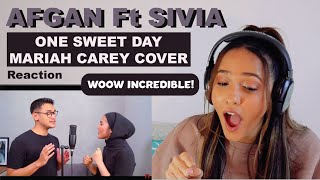 Afgan ft. Sivia - One Sweet Day - Mariah Carey Cover   REACTION!!