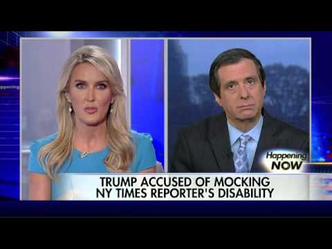 Donald Trump accused of mocking reporter's disability
