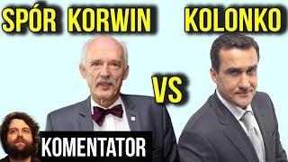 Spór Mariusz Max Kolonko i Janusz Korwin Mikke o BYCIE AGENTEM - Analiza Komentator Wybory Pieniądze