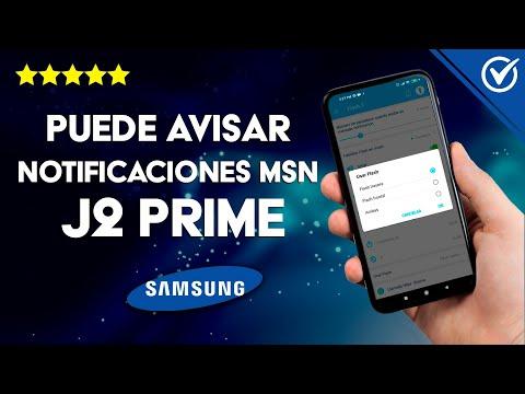 ¿Puede Avisar las Notificaciones de Mensajes el Samsung J2 Prime?