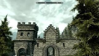 The Elder Scrolls V: Skyrim in Ultra high + FXAA + 720p. (AMD HD6770)