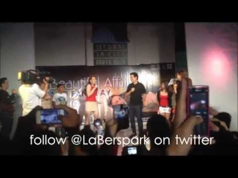 John Lloyd Cruz pick up line for Bea Alonzo at the #ABAFansDay Event