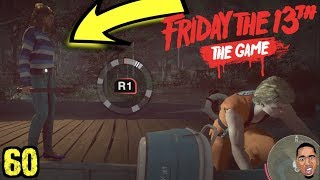 DUDE STOLE MY BOAT! Friday the 13th Gameplay #60