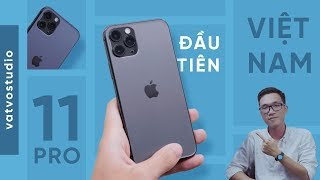Đánh giá nhanh iPhone 11 Pro ĐẦU TIÊN VỀ VIỆT NAM
