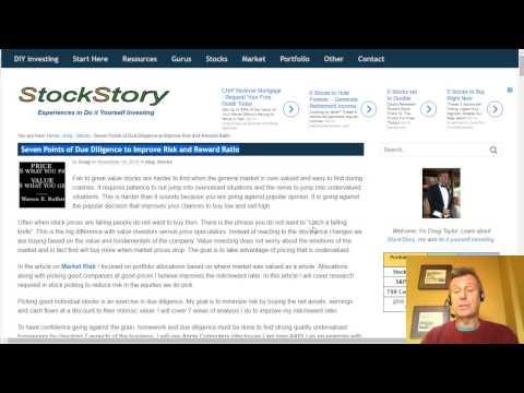 Picking Stocks - Balance Sheet the Financial Health of the Company
