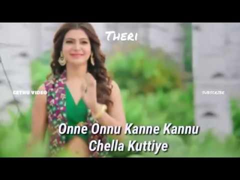 Whatsapp Video | Chella Kutty | Vijay Status | Lyrics Status | Edited