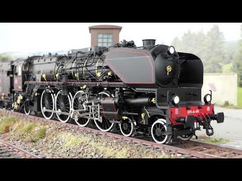 Unboxing Märklin 55082 Spur 1-Dampflok 241-A-65 in 1:32 – 8,6 kg und 822 mm lang – Reihe / Serie 241