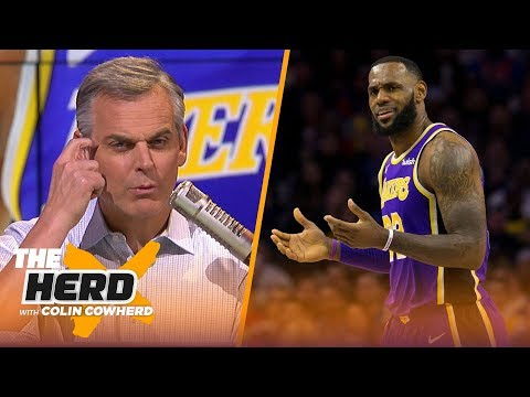 Colin Cowherd calls the Lakers 'completely average', says NBA rebuilds don't work   NBA   THE HERD