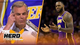 Colin Cowherd calls the Lakers