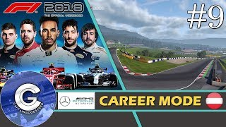Let's Play F1 2018 Career Mode   Mercedes Career #9   THIS CAR FEELS INCREDIBLE!