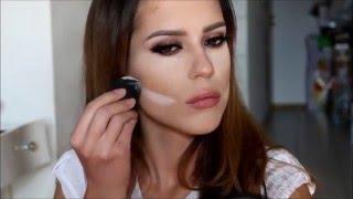CONTOURING and HIGHLIGHTING Makeup Tutorial