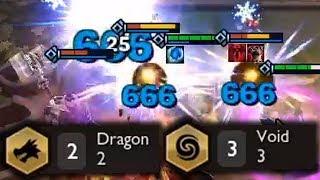 VOID DRAGONS | Teamfight Tactics Gameplay [Deutsch][9.18]
