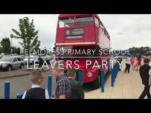 FELMORES PRIMARY SCHOOL LEAVERS PARTY 2017