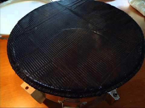 selbstbau diy 14 acoustic snare zur e drum snare mit selbst gebauten mesh heads youtube. Black Bedroom Furniture Sets. Home Design Ideas