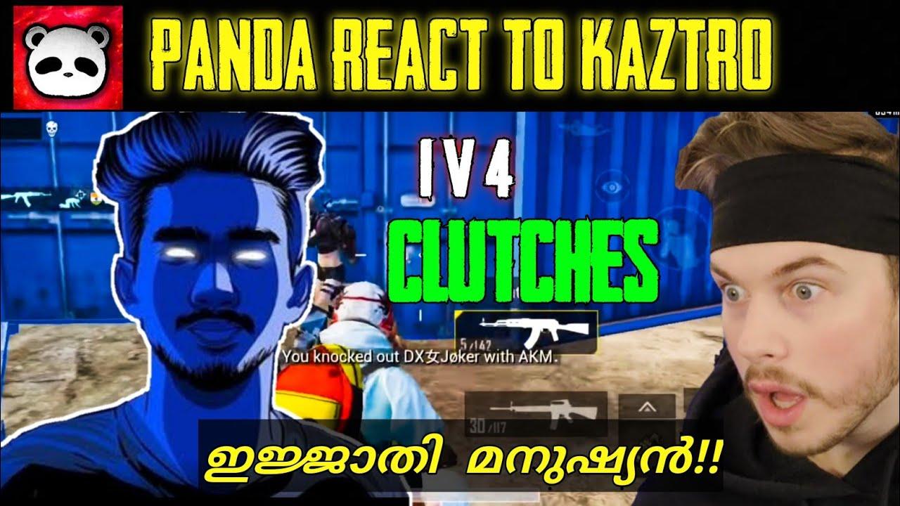 Panda react to kaztro | solo vs squad 🥰 | Pubg mobile| #kaztrogaming
