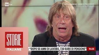 """Enzo Paolo Turchi: """"Dopo 50 anni di lavoro, 720 euro di pensione""""- Storie italiane 10/06/2019"""