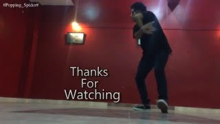 #Karan #Arjun  @Dubstep DANCE II Popping_Spider II