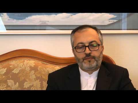 Iran's ambassador to Denmark, H.E. Mr. Morteza Moradian