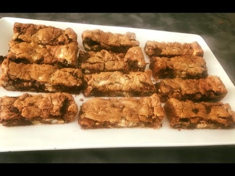 Double Chocolate Pecan Bars