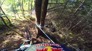 Rachel Atherton gets out of control at Fort William