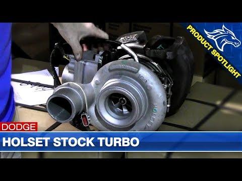 Holset Stock Turbo Overview: 07.5-12 Dodge Cummins 6.7L