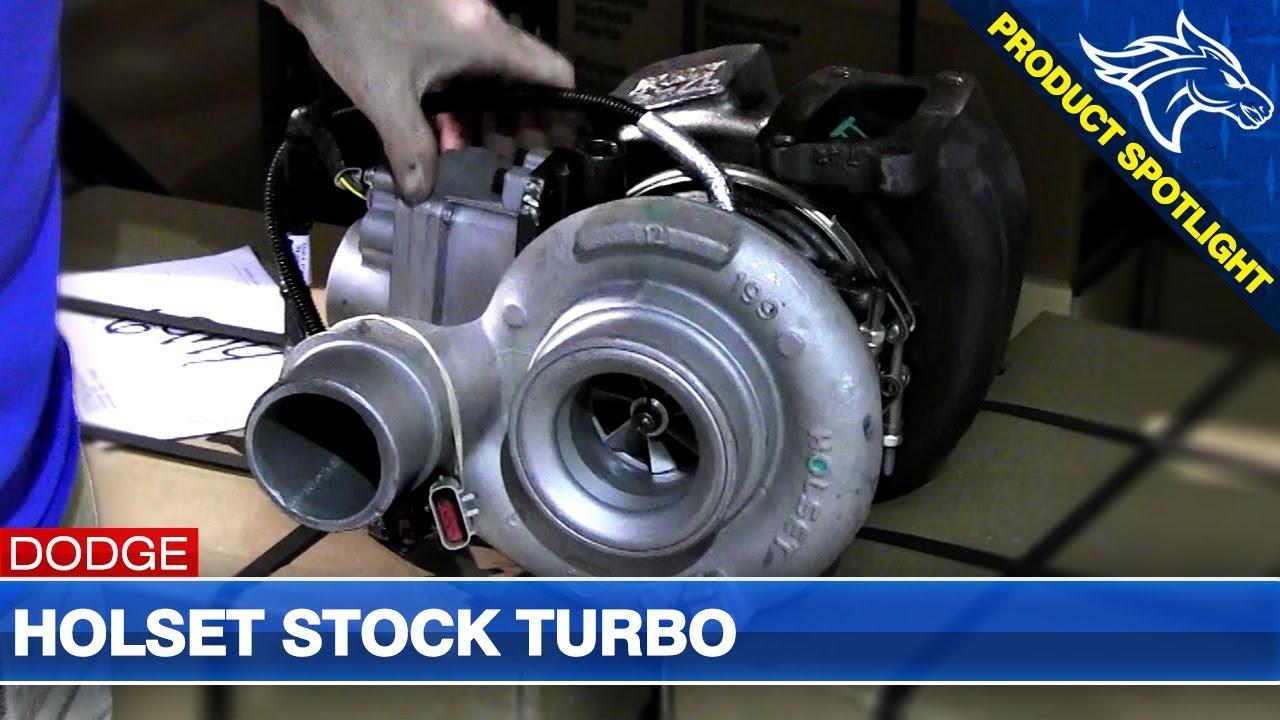 Holset Stock Turbo Overview: 07 5-12 Dodge Cummins 6 7L