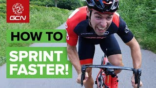 How To Sprint Faster On A Road Bike