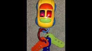 Мой первый брелок ТМ Умка(Игрушечные ключи с брелком. Музыкальная игрушка с песенкой