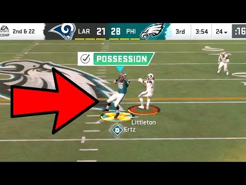 Zach Ertz MAX SECURITY ACTIVATED! Rams vs Eagles Madden 20 Online Gameplay