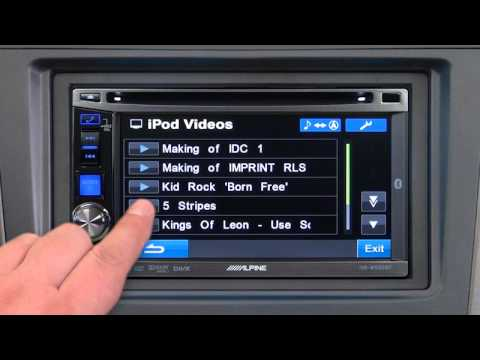 land rover discovery 2 audio wiring diagram honda recon carburetor alpine ive w530bt youtube