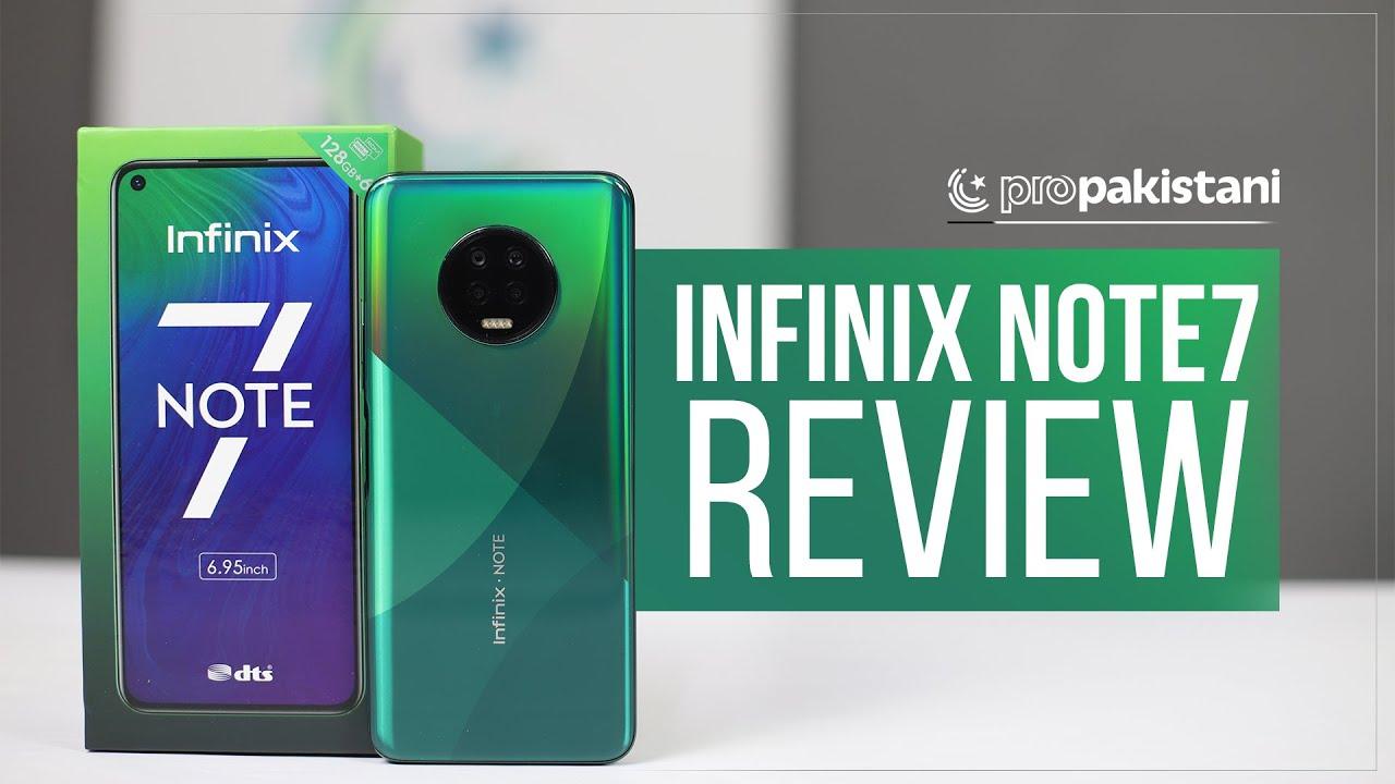 Infinix Note 7 Review Powerful Quad Camera Setup Youtube