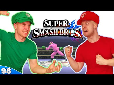 Bros Play Super Smash Bros 4 ✪ BOXING MATCH MINI-GAME!! ● Multiplayer #98 - 동영상