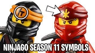 The LEGO Ninjago Ninja's NEW Symbols for Season 11 Explained!