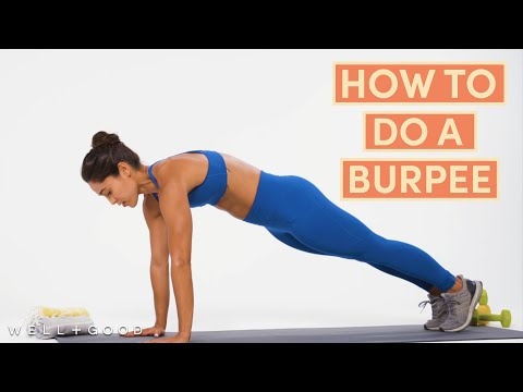 How To Do A Burpee   The Right Way   Well+Good
