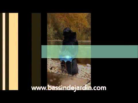 Fontaine de jardin Oslo Aquaarte Ubbink - YouTube