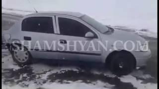 Խոշոր ավտովթար Արագածոտնի մարզում  բախվել են Mercedes ն ու Opel ը