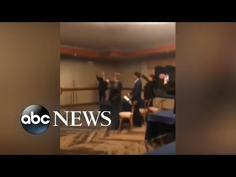 High school students under fire for Nazi salute l ABC News