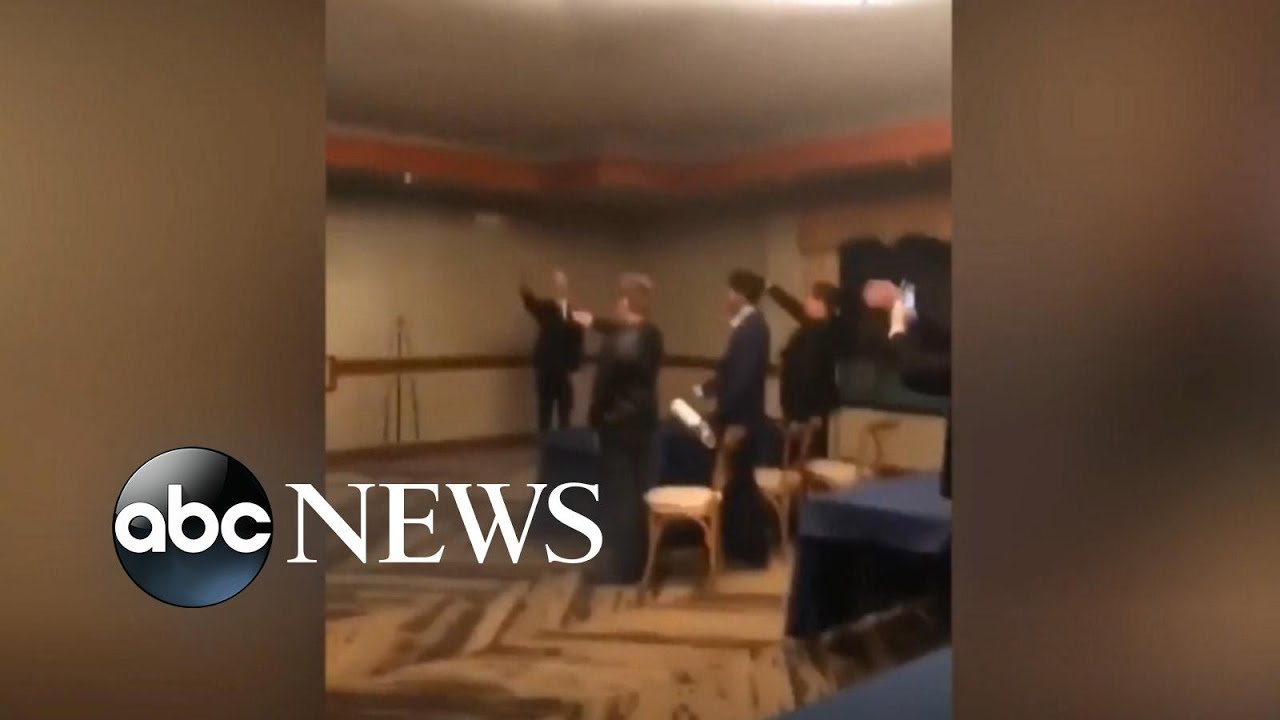 ABC News:High school students under fire for Nazi salute l ABC News