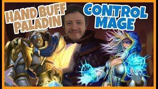 [Hearthstone] Hand Buff Paladin'e ve Control Mage'e karşı Arena mücadelemiz