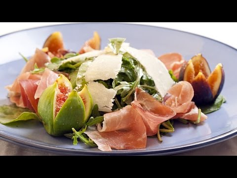 How To Make A Fig Arugula And Prosciutto Salad