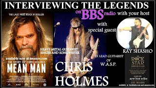 Chris Holmes Heavy Metal Guitar Legend and a 'Mean Man'