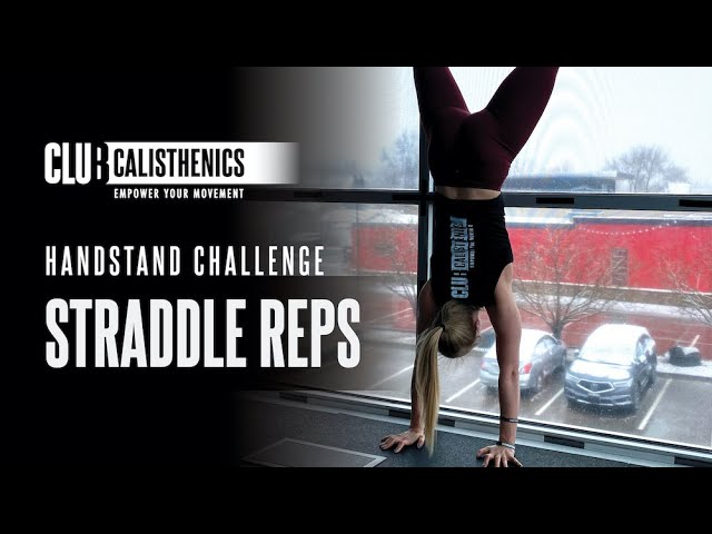 DAY 15 - Handstand Straddle to Full Handstand