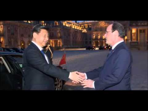 Chinese, French presidents reach deal on climate change