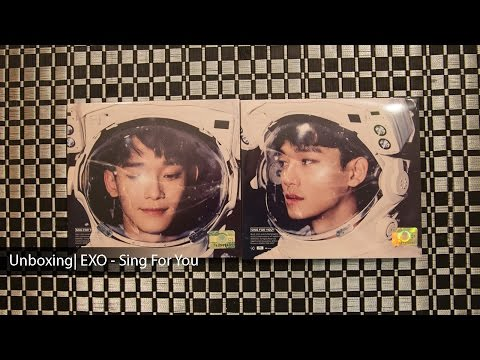 Unboxing | EXO - Sing For You (Chen Ver.)