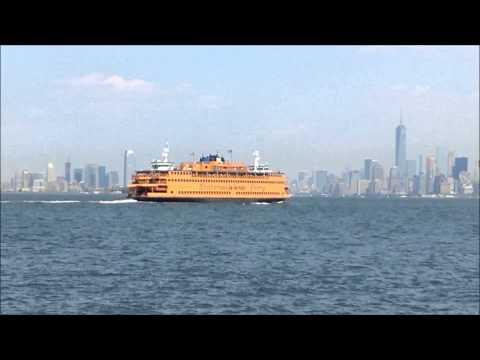 Staten Island Ferry to Manhattan Leaves Saint George Terminal