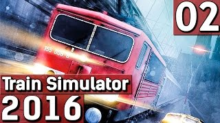 Die rote Elefantenkuh BR155 #2 Train Simulator 2016 Gameplay deutsch HD german