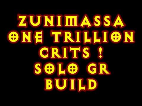 Diablo 3 Zunimassa Garg/CoE Solo Greater Rifting 2.5.0