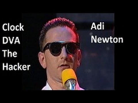 Clock DVA - The Hacker and Adi Newton talking about computers 1989