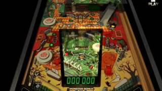 Microsoft Pinball Arcade   Haunted House demo