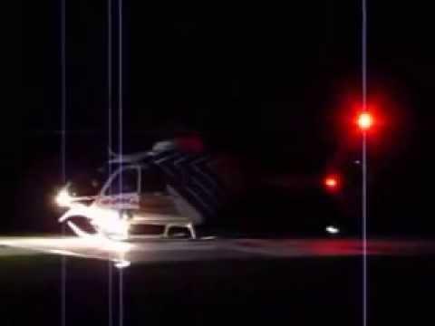 Alfa-Helicopter přílet Heliport Znojmo 9.10 2014